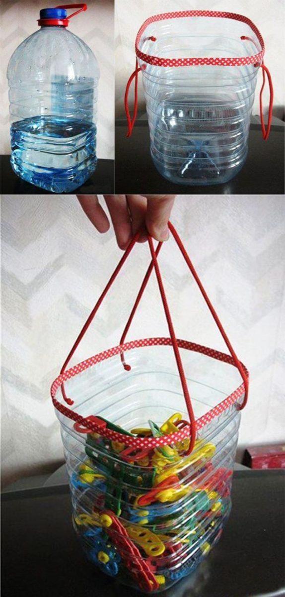 Поделки из пластиковых бутылок видео
