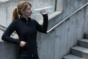 drinking-jogger