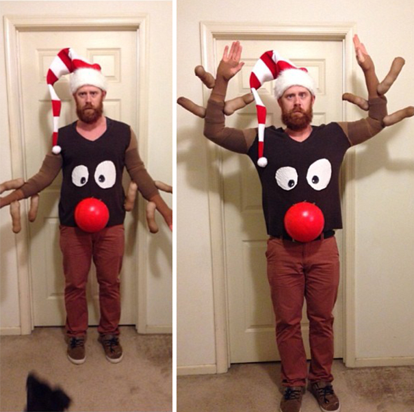 Новогодний костюм своими руками для мужчины
