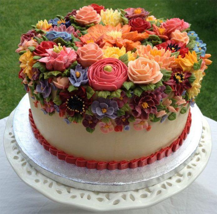 Картинки, фото, торт.цветы
