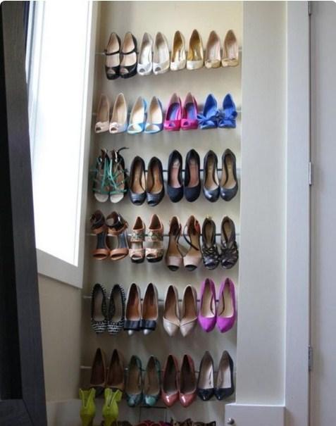 d081b1e71d5b Удивительные идеи хранения: 12 способов хранения вашей обуви!